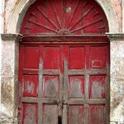 Suchitoto Door by Lena Johannessen