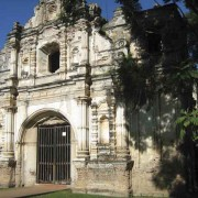 San José el Viejo church façade (photo by Jack Houston)