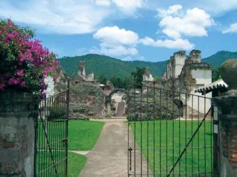 Ruins of monastery and church of La Recoleccion (photo: Jack Houston)