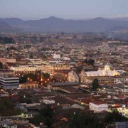 Quetzaltenango panorama, January 2008 (Harry Díaz)