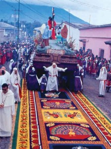 Images from Lent and Holy Week in La Antigua