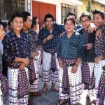 Young men of San Pedro wearing their colorful clothing. (photo: Victoria Stone)