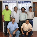 Local community assessors from Chimaltenango pictured in the ESAP office in La Antigua