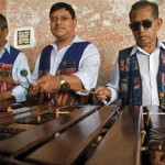 Music from the marimba is considered a part of Guatemala's national identity.  (photo: Laura MacNamara)