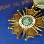 Order of the Quetzal —Olga Santizo