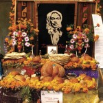 Day of the Dead altar commemorating an ancestor