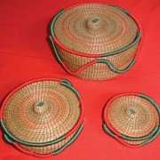 Best known for their baskets woven from pine needles, the women of San Rafael Chilascó work together