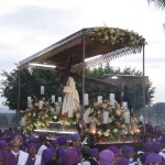 Holy Thursday procession in Izalco, 2009 by Lena Johannessen