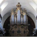Organ of colonial La Merced Church, moved to the church in the new capital