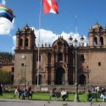 Construction of Cuzco Cathedral began in 1550