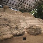 Temple now excavated and stabilized