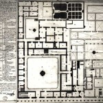 Very few of the buildings in Antigua have original plans. This 1763 plan (first floor) was found at the Archives of the Indies in Seville, Spain. The description is fascinating but may have actually been a proposal for the approval of the building permit by Luis Diez de Navarro, a Spanish engineer who was in charge of the new structure which was completed in 1764.