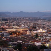 Panorama of Quetzaltenango by Harry Daz