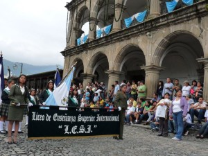Celebration in La Antigua Guatemala