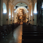 Interior of the Basilica of Esquipulas