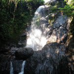 Beautiful and refreshing waterfall by Tara Tiedemann