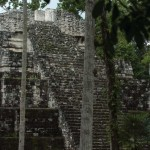 Maya structure, Yaxhá Archaeological Park (photo by Thor Janson)