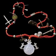 Red beads have long held a certain fascination not just here but around the world.