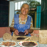 The producer of Chocolate San Juan, Doña Josefa (photo by Thor Janson)