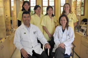Drs. Jos and Dalia de Golcher and staff