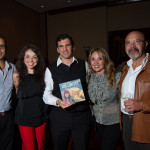 "Presentation of the book ""Sin Límites"" by Andrea Cardona (photo by Nelo Mijangos)"