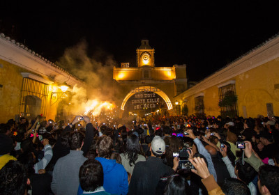 New Year Celebrations in Antigua Guatemala Photo Gallery by Nelo Mijangos