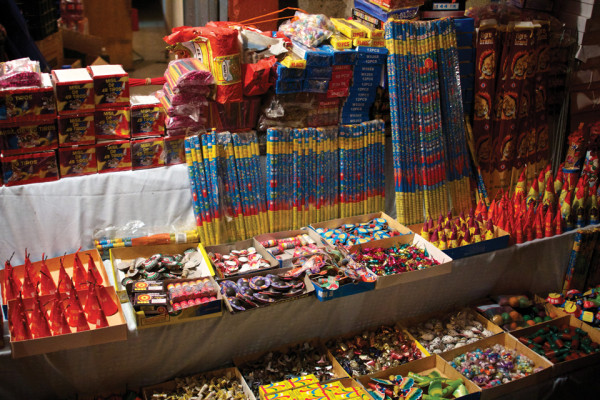 "Fireworks booth (photo by <a href=""http://photos.rudygiron.com"">Rudy Giron + photos.rudygiron.com</a>)"