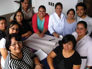 AGALI 2013 Fellows from Honduras at the week-long advocacy training in La Antigua Guatemala