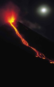 Pacaya volcano eruption
