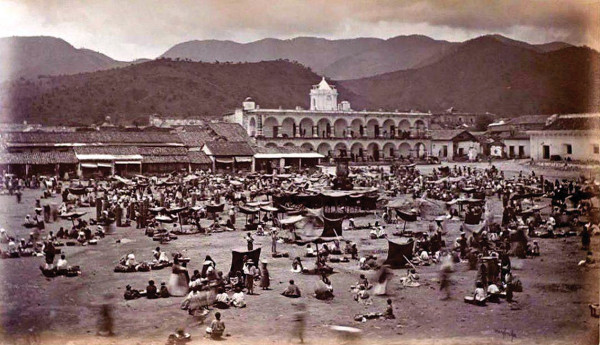 La Antigua Central Park, 1875. Photo by Eadweard Muybridge
