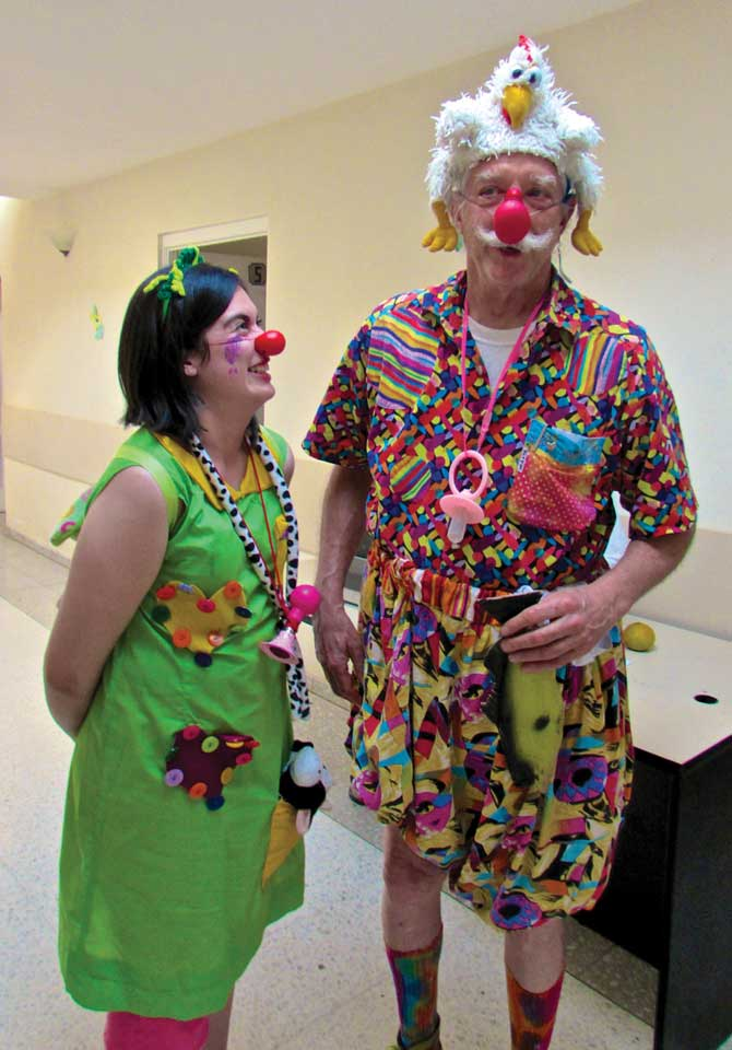 Patch Adams and accomplice