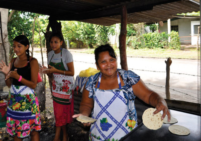 With her new stove that she helped co-design, Margarita saves Q1,200 every month.