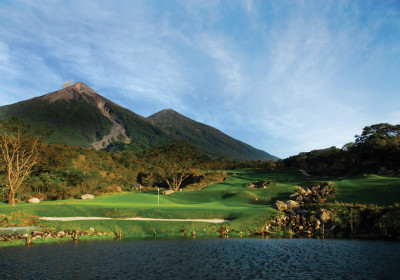 Hole 17, Fuego Maya Golf Course (Ricky López)