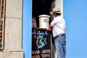 Water for everyone, Antigua Guatemala