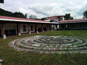 Classrooms and green area