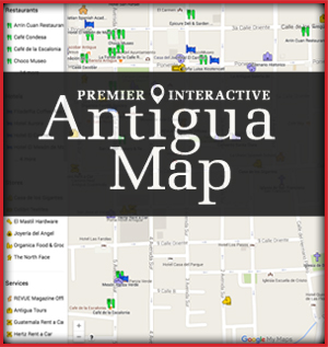 Premier Interactive Antigua Map