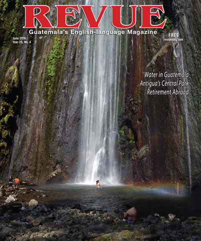 This month's issue of Revue Magazine