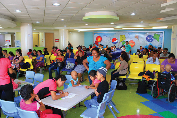 Guatemala's National Pediatric Oncology Unit