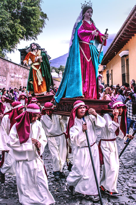 Procession from Santa Catarina Bobadilla