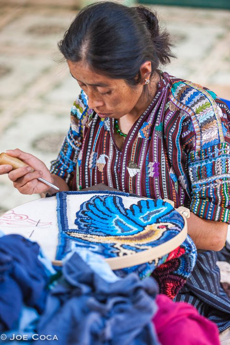 "The Guatemalan weavers ""Multicolores Collective"""