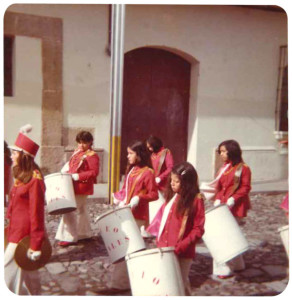 Liceo Rosales Marching Band 1978-1979 photo courtesy of Colegio Liceo Rosales